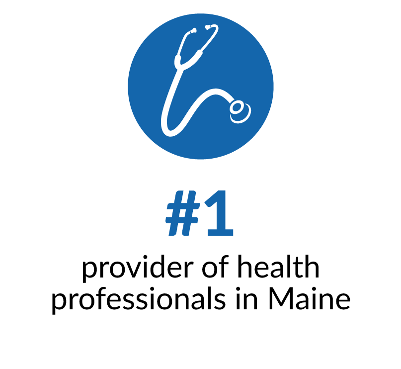 Number one provider of physicians for the state of Maine