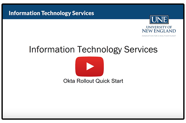 Okta Guide | Information Technology Services | University of