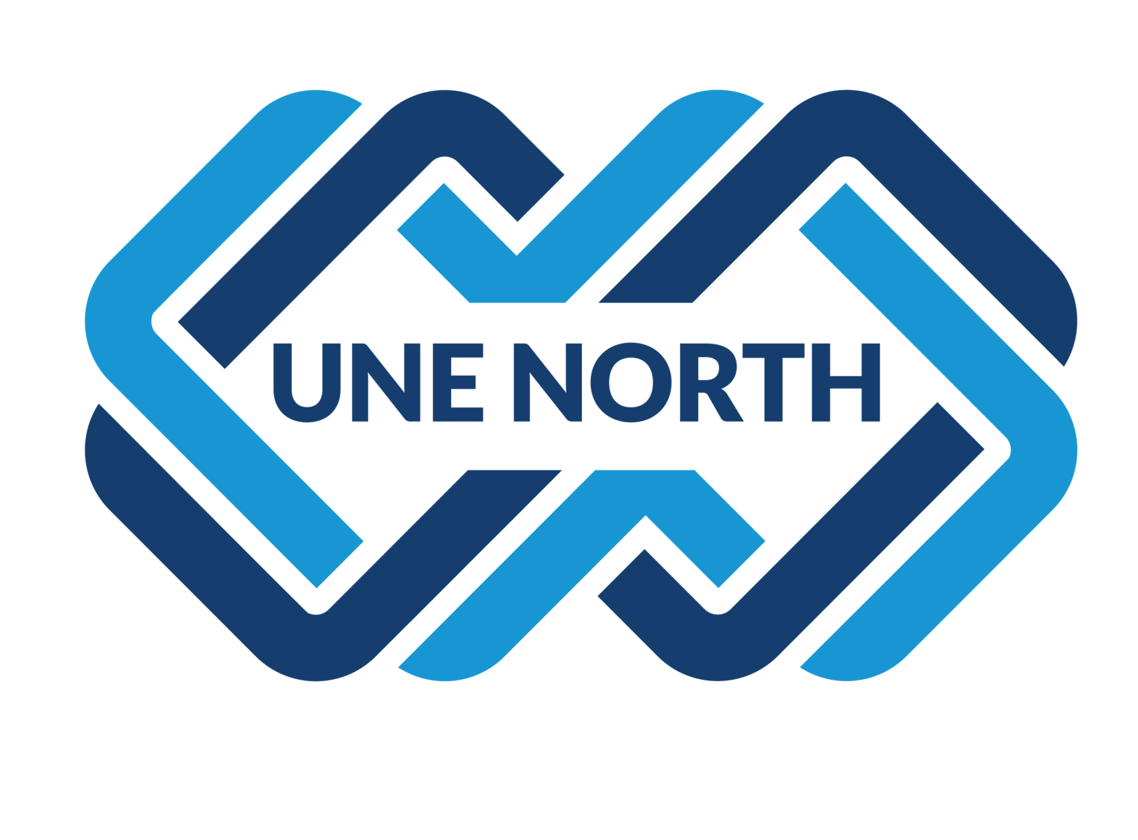 UNE NORTH graphic