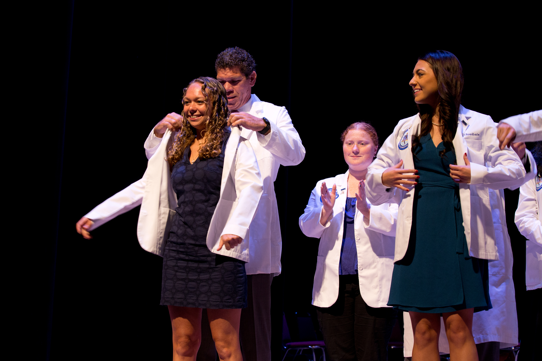 Coating at White Coat Ceremony 2017