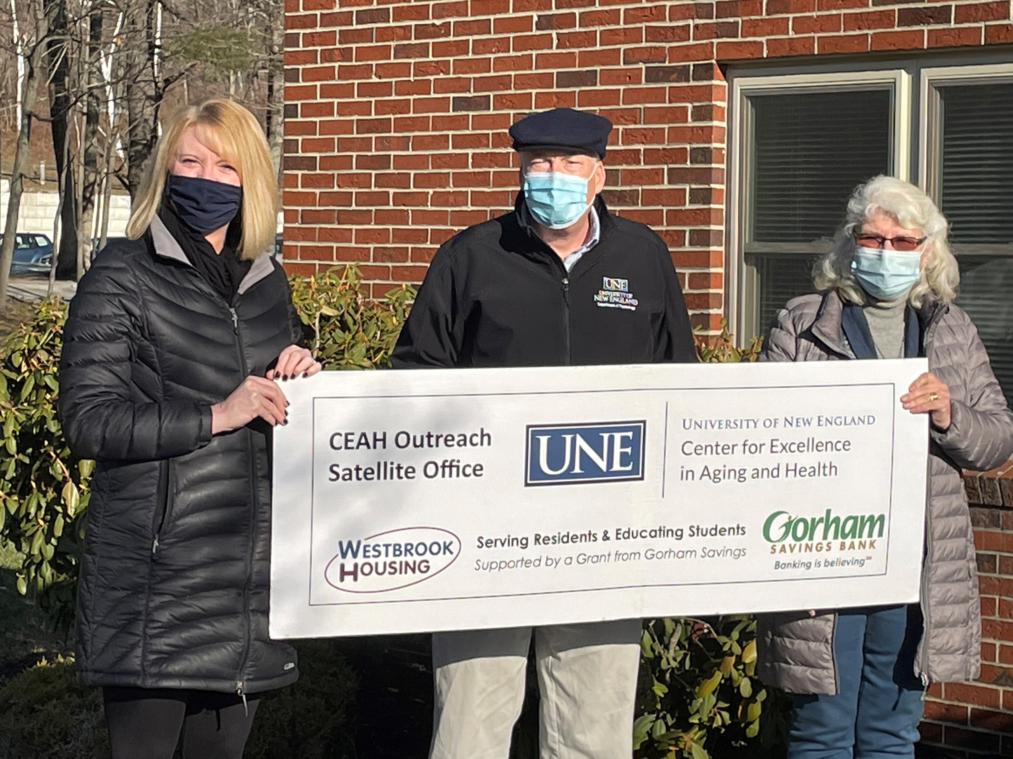 Westbrook Housing Authority and UNE to launch health care