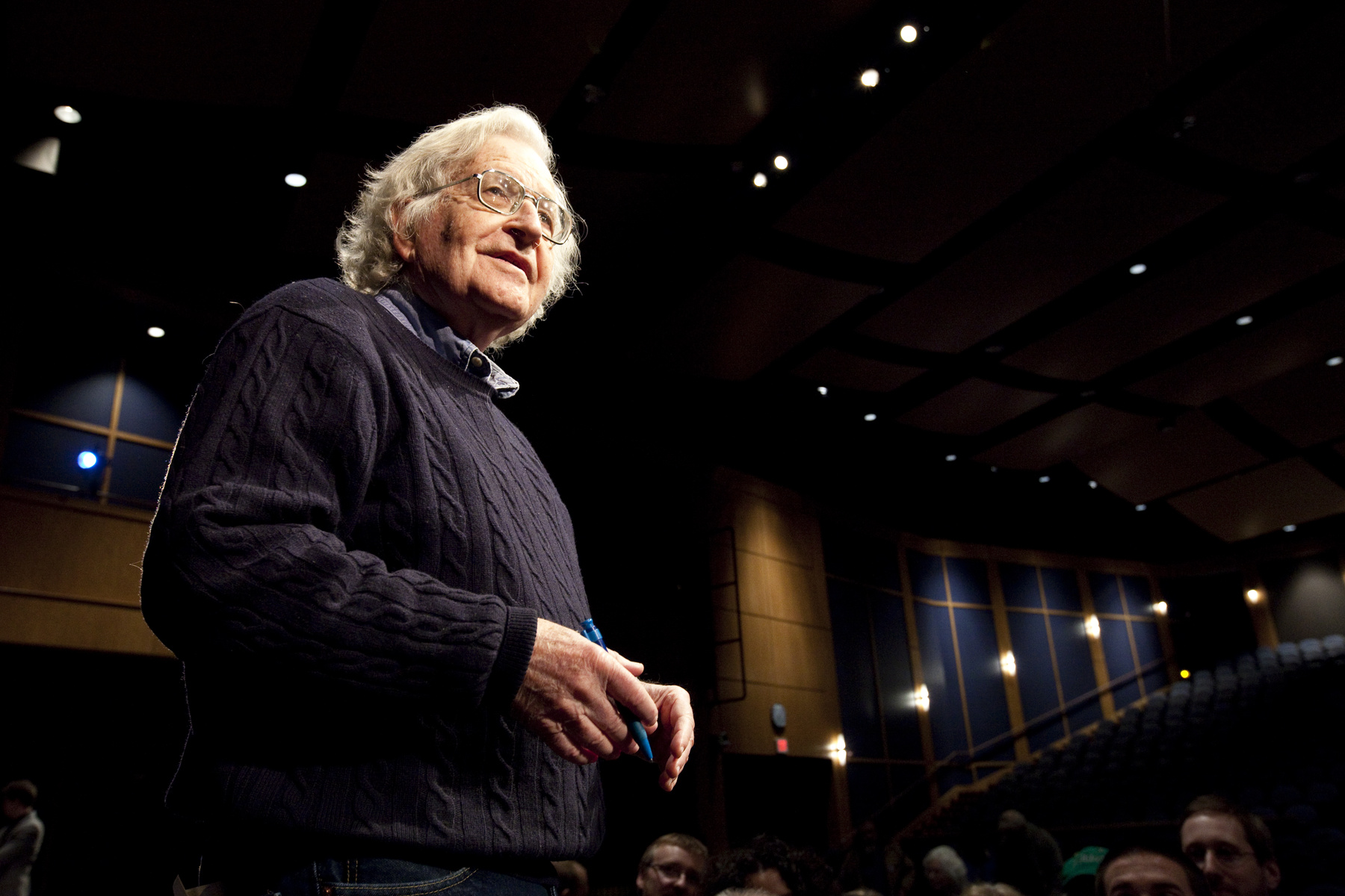 Noam Chomsky at CGH event