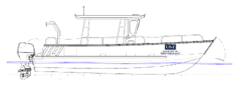 Rendering of Student-Centered Research Vessel