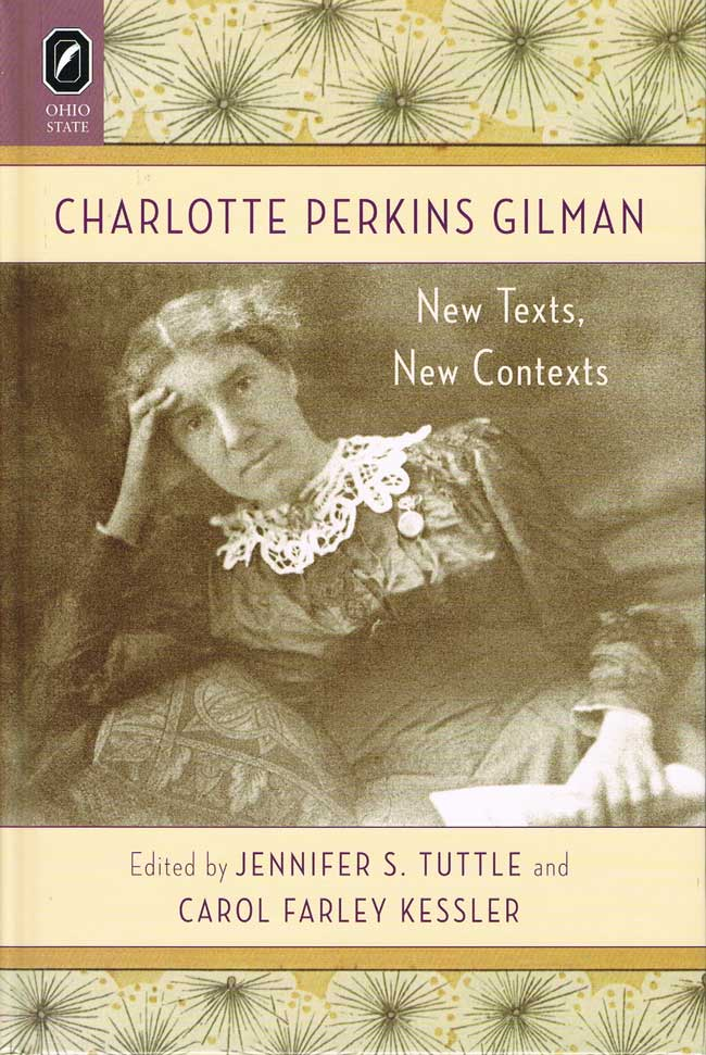 Cover image of Charlotte Perkins Gilman, featuring a photograph of Gilman