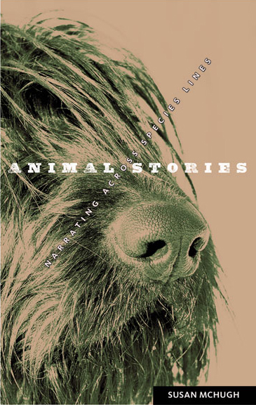 Cover image of Animal Stories featuring a shaggy dog's snout