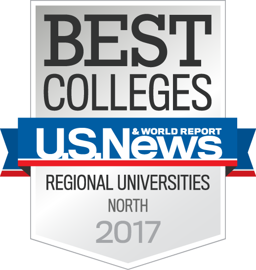 U S News Best Colleges 2017 badge