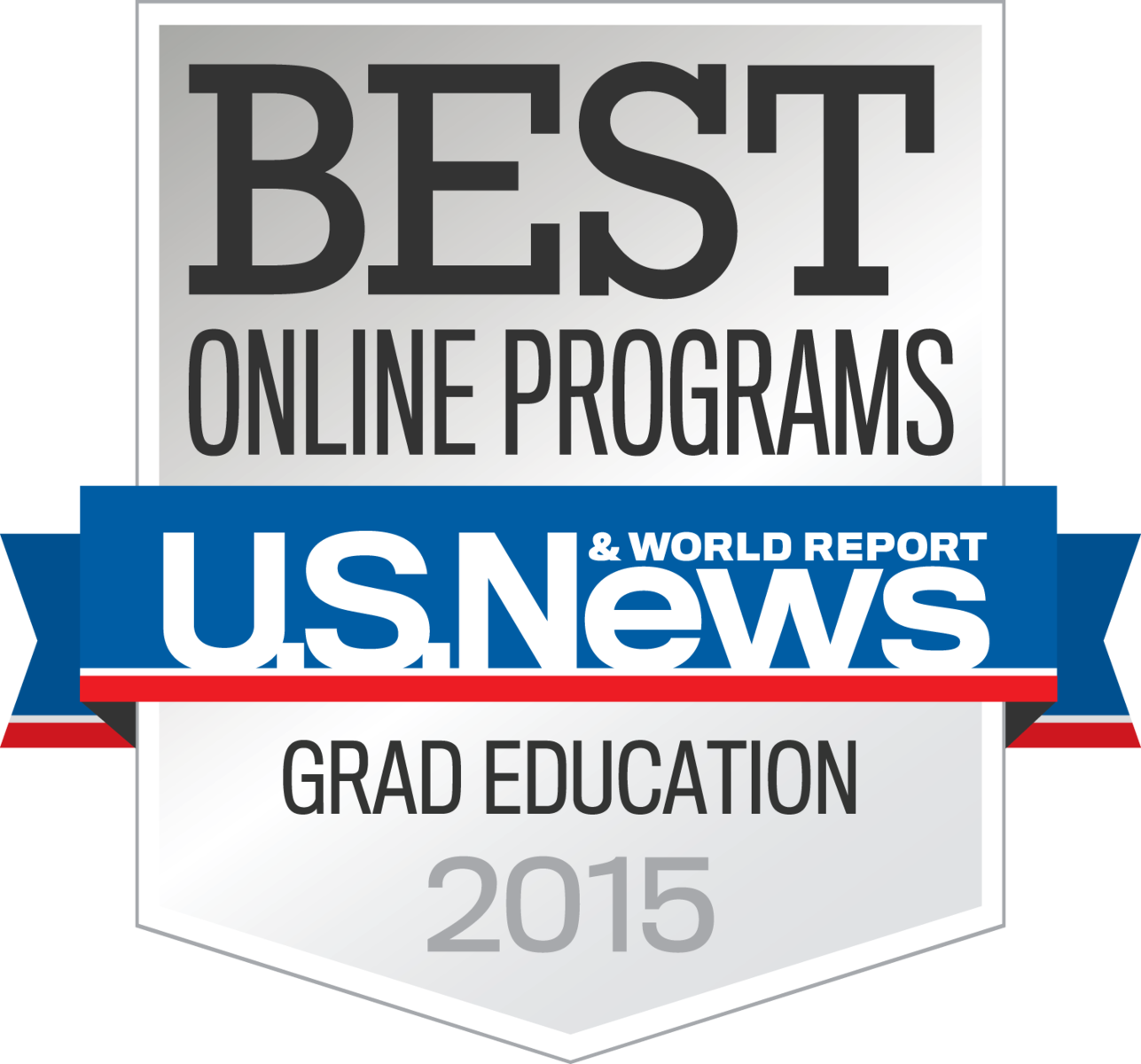 U S News and World Report Best Grad Education 2015 Badge