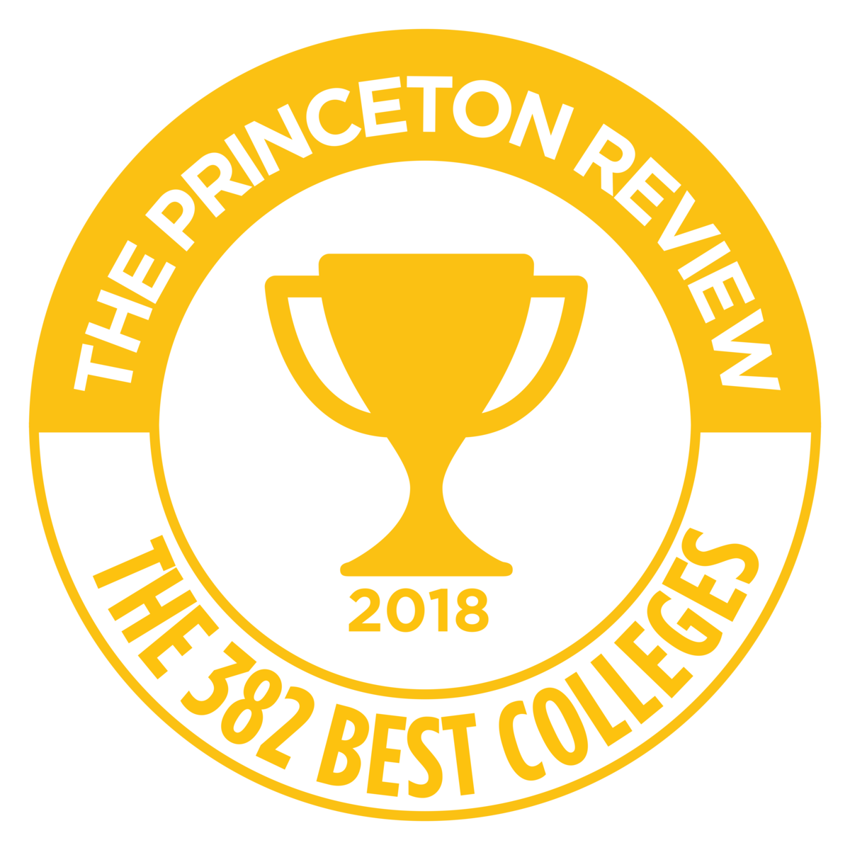 Princeton Review's Best 380 Colleges