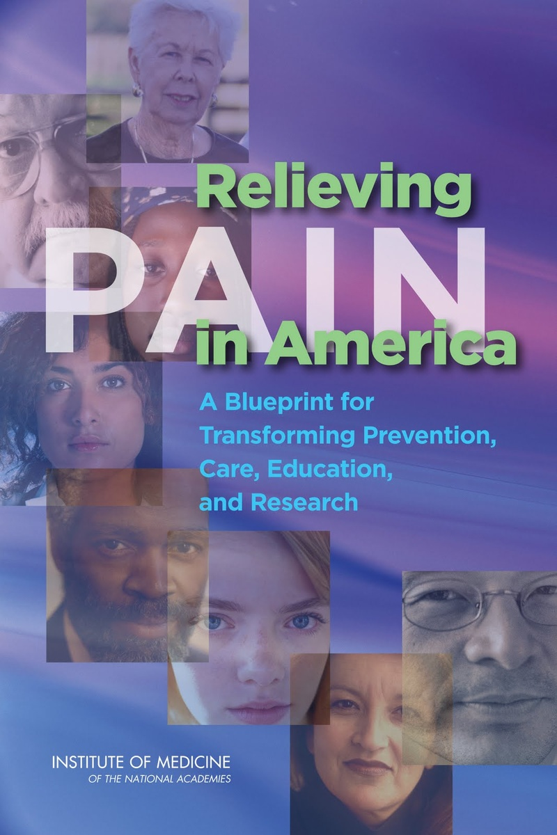 Cover image of Relieving Pain in America