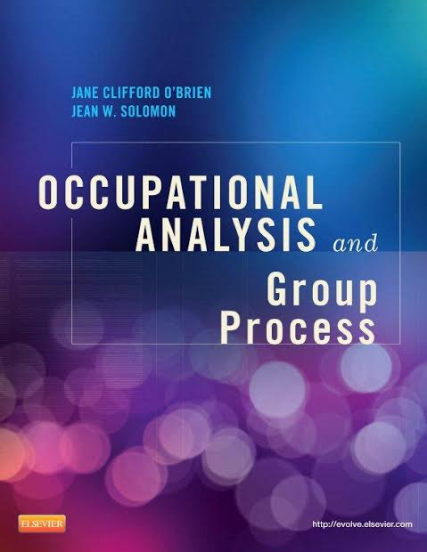 Cover image of Occupational Analysis and Group Process