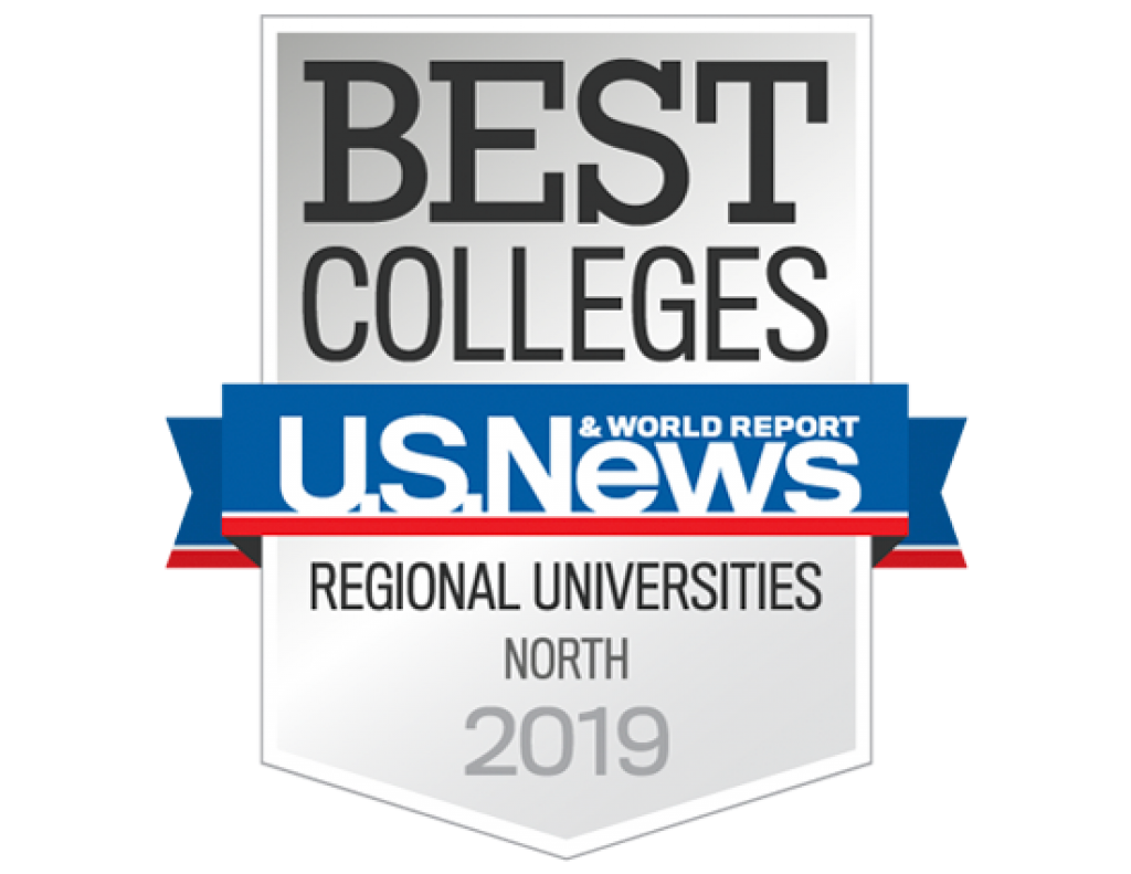 U.S. News & World Report Best Colleges Regional Universities North 2019 badge