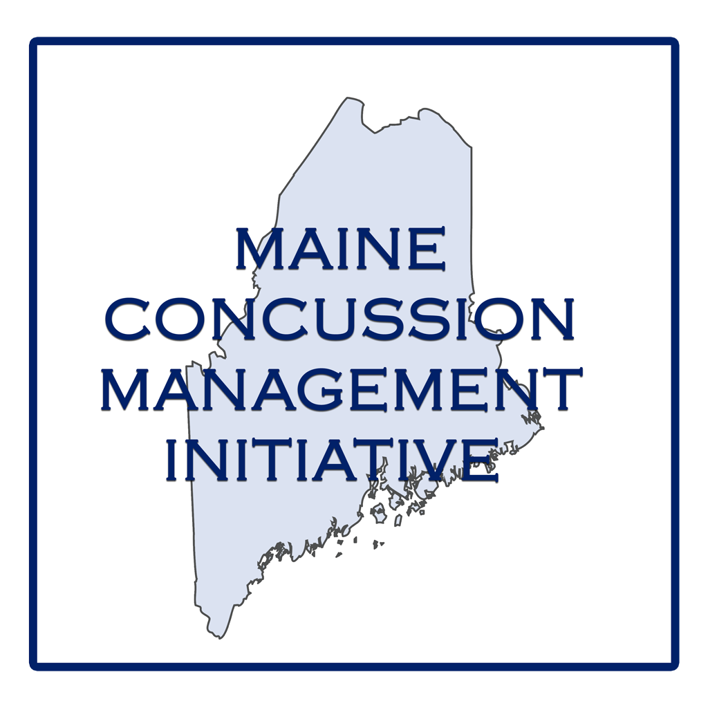 logo for the Maine Concussion Management Initiative