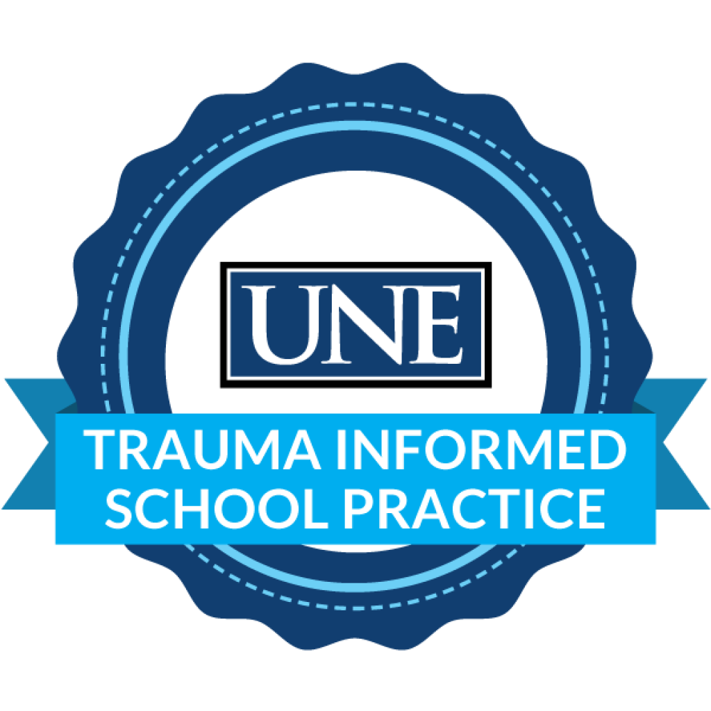 badge for trauma informed school practice
