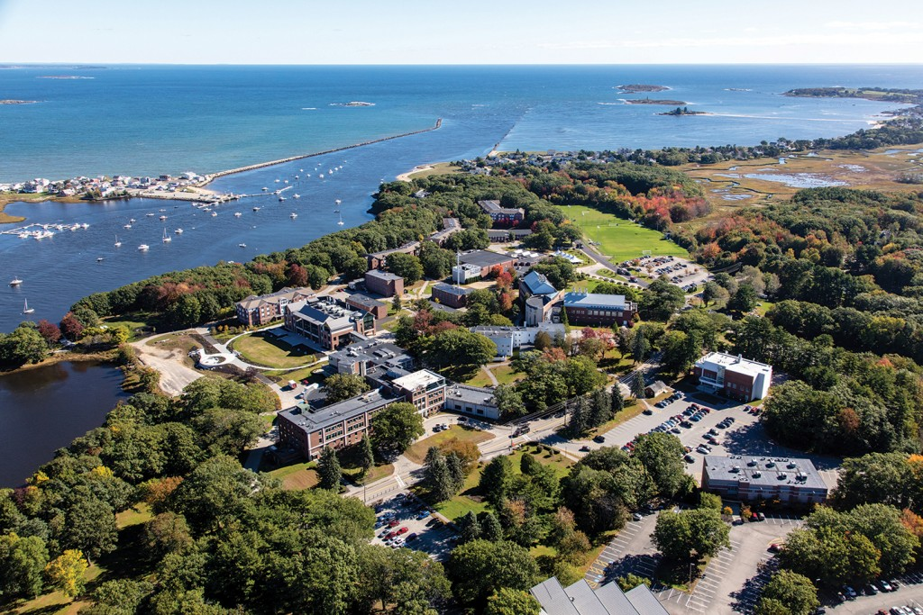 UNE's Biddeford, Maine campus