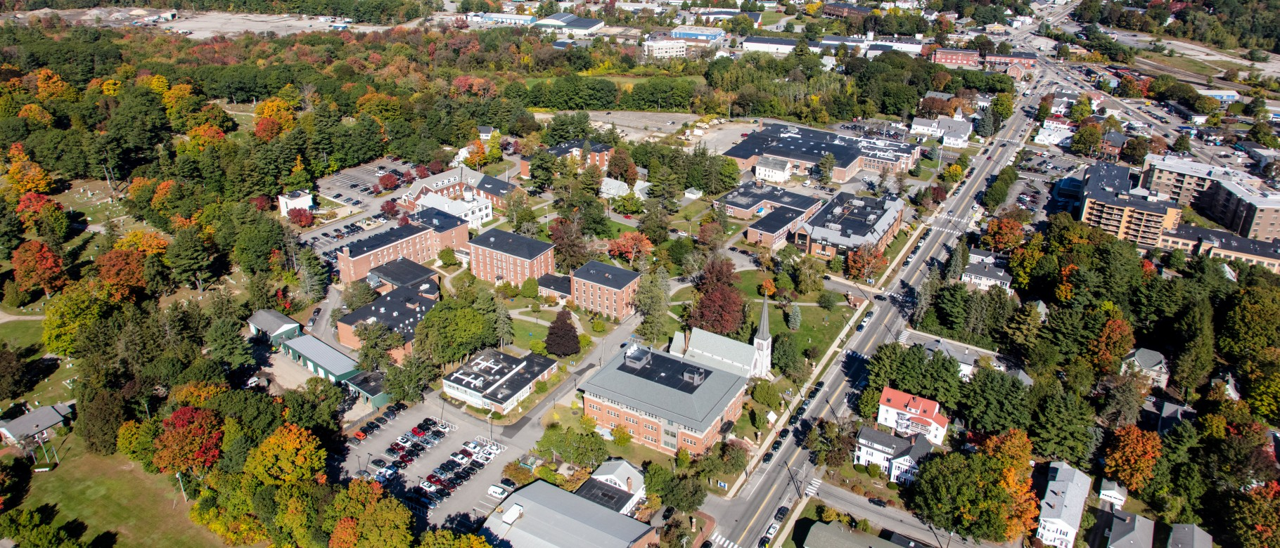 The University of New England's Portland Campus.