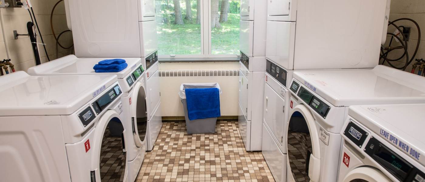 Avila Hall Laundry Room