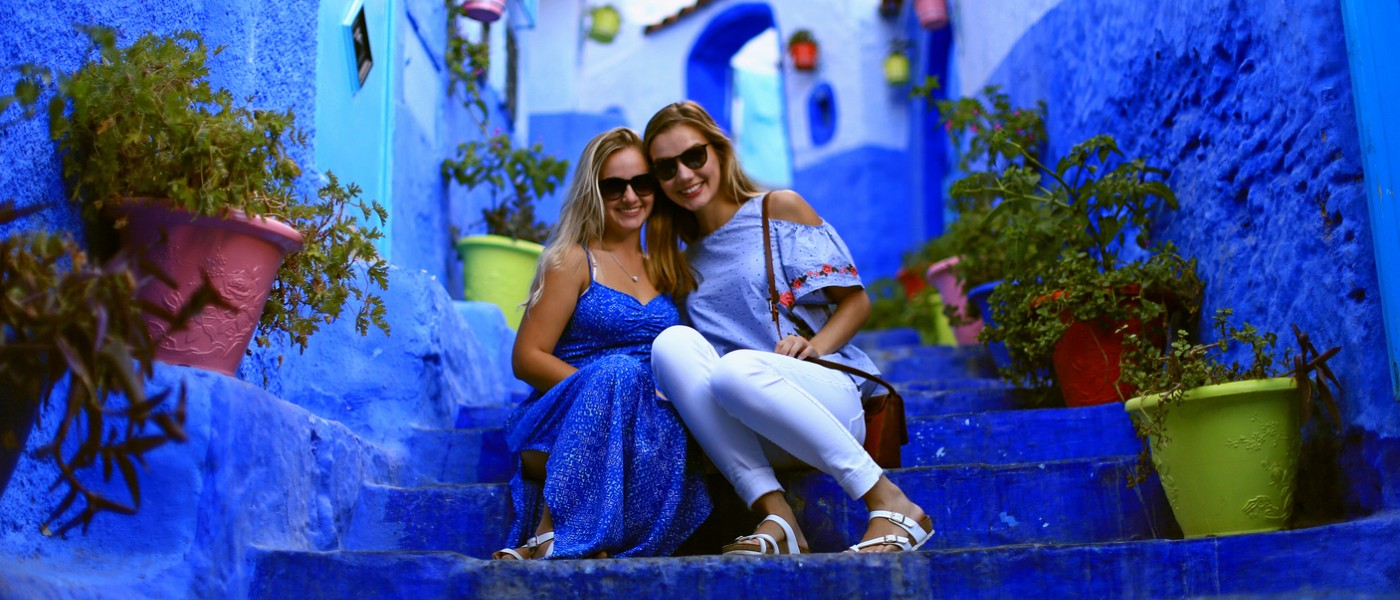 UNE Fall 2017 Students on excursion to Chefchaouen