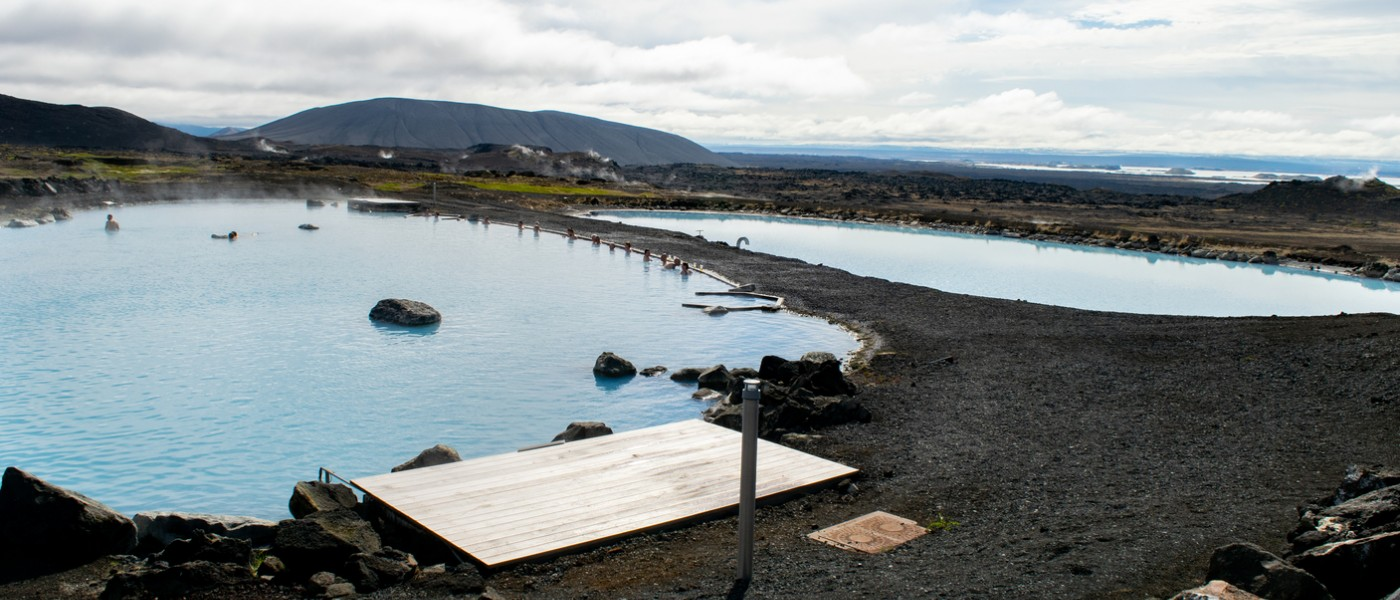 Geothermal Pools in Iceland