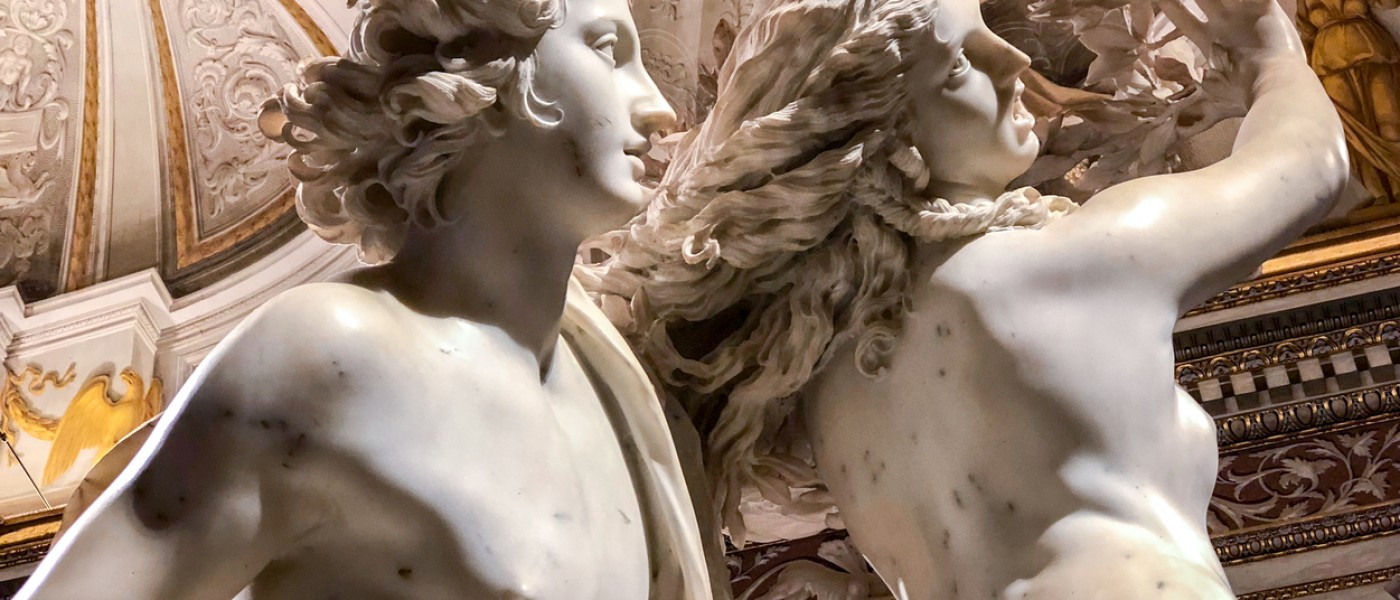 Statues in Art Museum in Greece and Italy