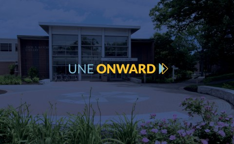 UNE has announced UNE Onward, the University's plan for resuming on-campus operations in for the fall 2020 semester.
