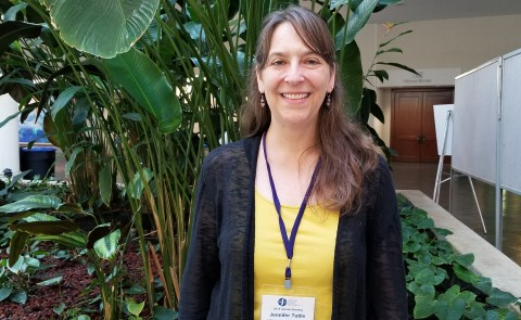 Jennifer Tuttle recently presented at the American Studies Association Conference in Honolulu, Hawaii