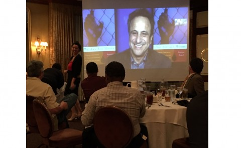 Anouar Majid delivers a keynote address in Louisiana
