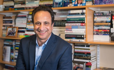 Anouar Majid, Ph.D., vice president for Global Affairs and director of the Center for Global Humanities