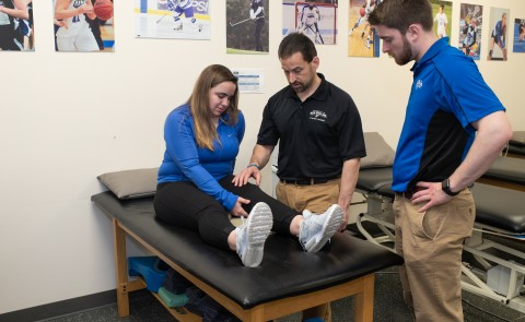 The UNE Master of Science in Athletic Training has been given the maximum award of 10 years of continuing accreditation
