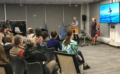 "The University of New England Planetary Health Council and UNE NORTH hosted ""Sea Change"" in November."