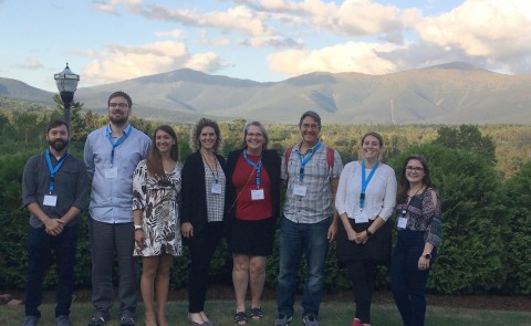 Members of UNE's Center for Excellence in the Neurosciences recently took part in the 2019 North East Regional IDeA Conference