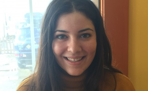 An essay written by UNE senior Mira D'Amato was recently published in the Portland Press Herald