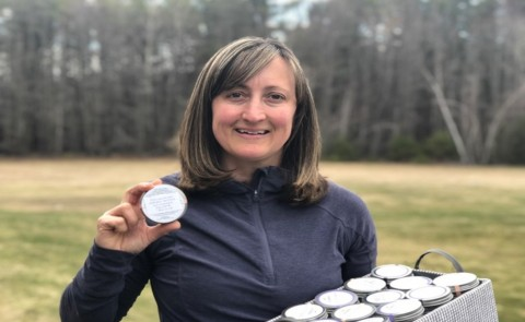 Wendy Martineau developed a plan to have customers donate her lotion bars to health care workers