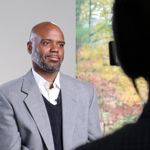 Chris Hunt, Ed.D, reflects on his role as UNE's first associate provost for Community, Equity, and Diversity and his hopes to make UNE a more inclusive, equitable institution of higher learning.